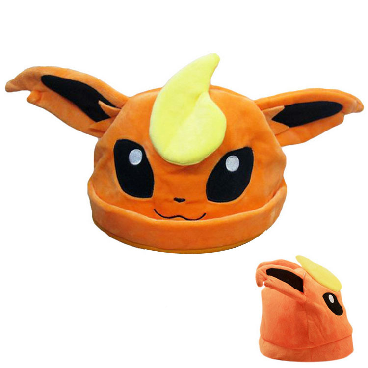 Japanese Anime Pokemon Cute Eevee Umbreon Sylveon Snorlax Soft Cap Pokemon Costume Hat