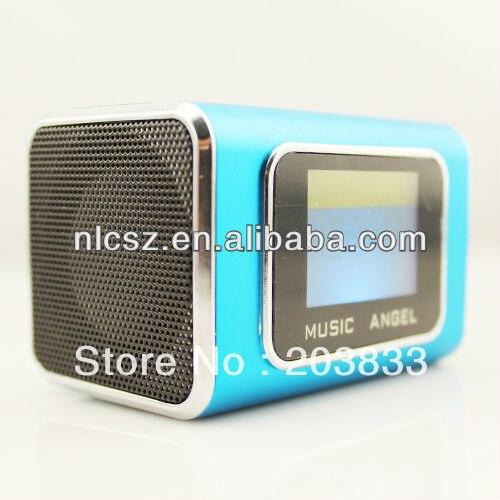New Portable Mini USB Micro SD/TF music Player with screen, digital computer speaker
