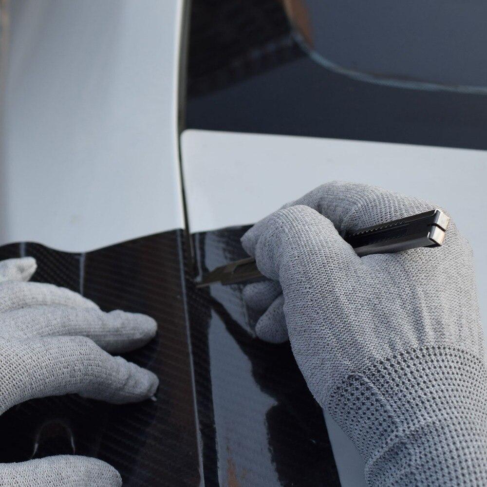 Vinyle Film voiture Wrap raclette magnétique supports laine grattoir sécurité Cutter couteau lames outils sac Automobile fenêtre teinte outils K27 - 3