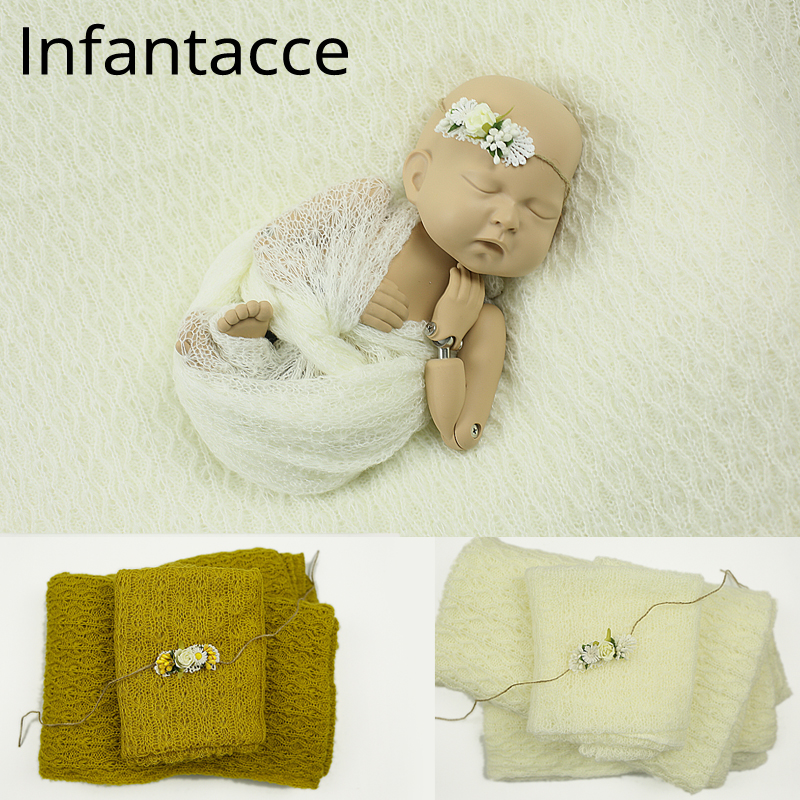 Mohair newborn photography background baby photography props blanket wraps poses accessories 2018 fabric backdrop stand photo стоимость