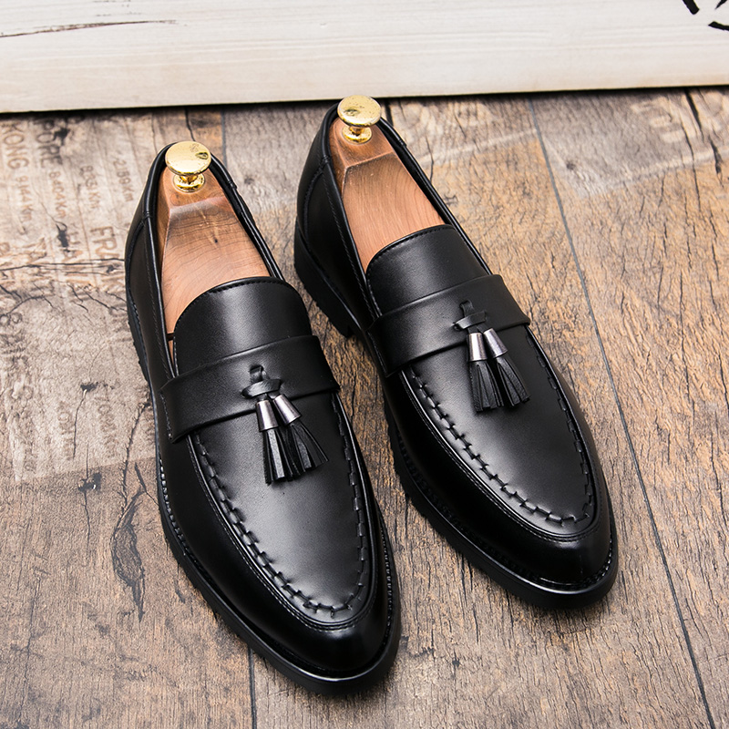 italian tassel business men shoes leather elegant formal dress flats designer office footwear luxury brand oxford shoes for men (32)