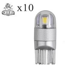 2Pcs  T10 W5W 2W 6000K Cars From Canbus Led Light-Emitting Diodes 3030 Independent Bulb No Errors Univ era Auto Lamp DC 12V