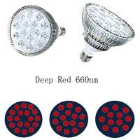 Deep Red 660nm Grow Light 54W 45W 36W 27W 21W E27 LED Grow Light Par38 Bulb