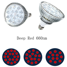 Deep Red 660nm Grow Light 54W 45W 36W 27W 21W E27 LED Grow Light Par38 Bulb Plant Grow Lamp for Foweing Blooming