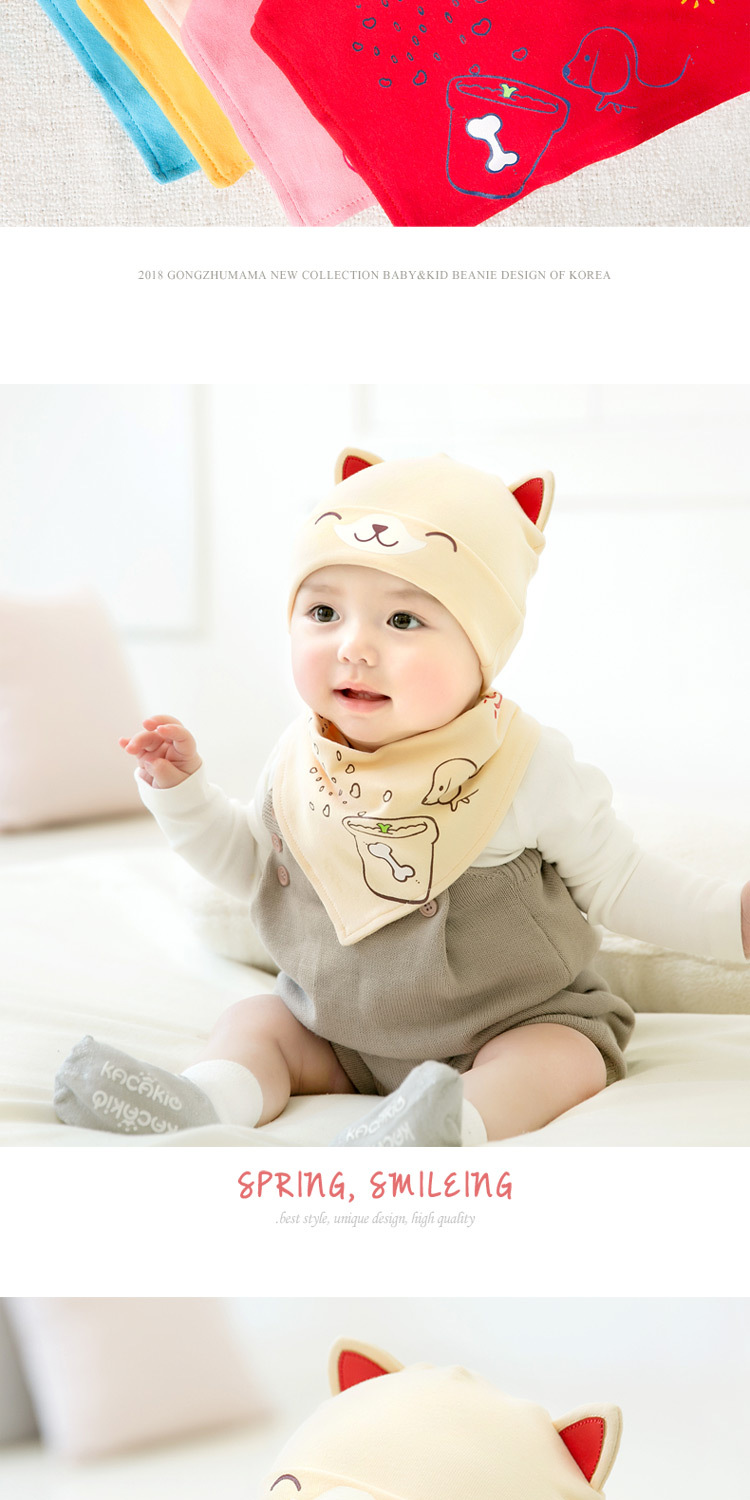 2pcslot Baby infant Winter Hat & Scarf Baby Winter Cap Children Warm Scarf For Boys Suit dog Hats Scarfs For Girl Boy Newborn (12)