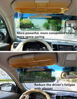 Car styling Sun visor Safety Drive accessories FOR Kia Rio K2 Sportage Soul Mazda 3 6 CX 5 Lada Skoda Octavia A5 A7 accessories