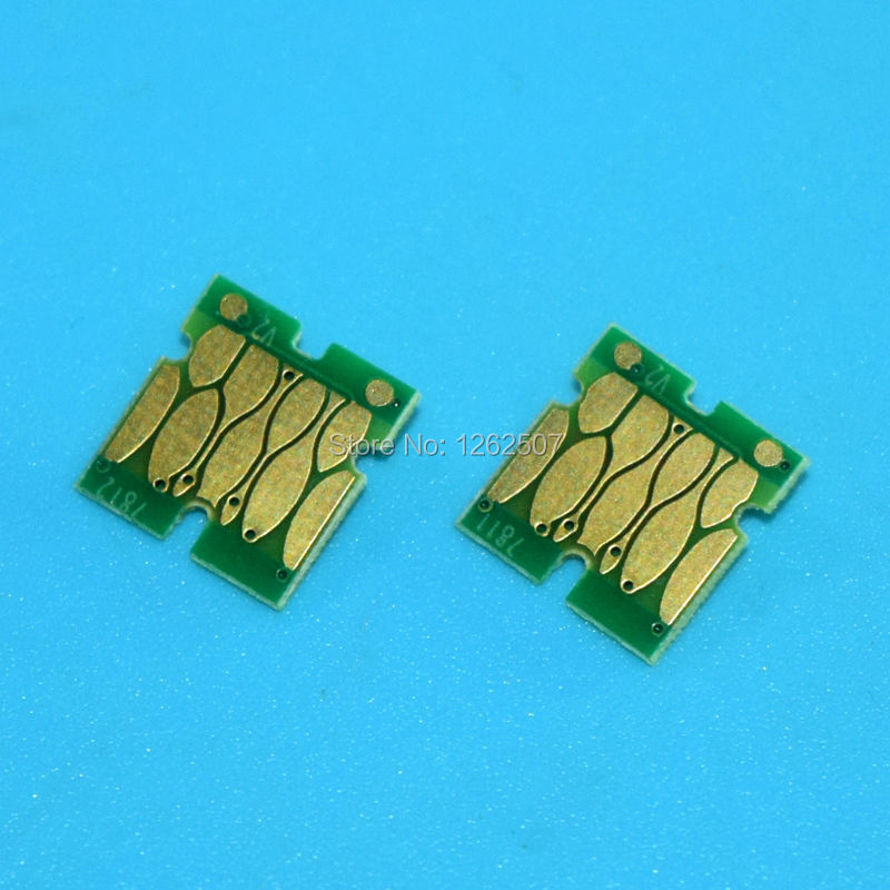 T6881 T6882 T6883 T6884 Compatible Cartridge Chips For Epson Surecolor SC S30610 30610 Printers Ink Cartridge Chip Reset