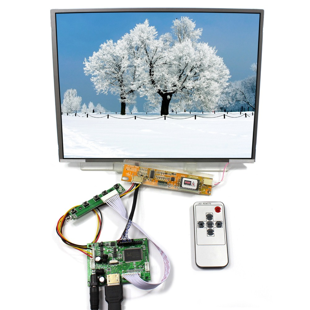 HDMI LCD Cotntrol Board With 12.1inch 1024x768 LTN121X01 N121X5 LCD Screen 12 1 inch lcd screen n121x5 l01 n121x5 l01 n121x5 l03 n121x5 l06 free shipping