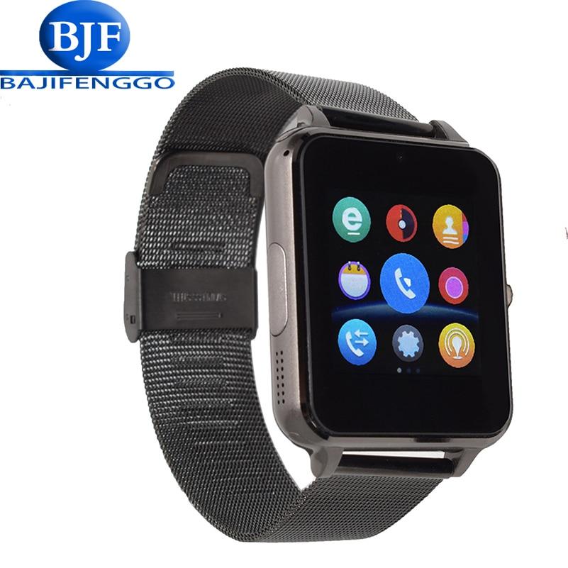 imágenes para Apoyo Reloj inteligente para Android Teléfono con Cámara de Sincronización de Reloj Notificador Conectividad Bluetooth Del Teléfono LG xiao millas PK Q18 GT88 GV18 A1