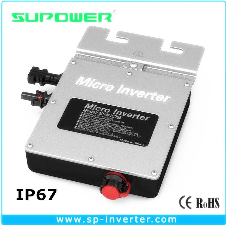 48vdc 230vac 500w Micro Grid Inverter 500w Waterproof Grid Tie Pv Inverfter Power Supplies