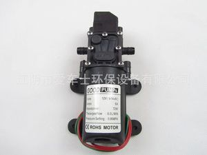 Image 4 - DC 12V 130PSI 6L/Min Water High Pressure Diaphragm Water Pump Self Priming Pump Automatic Switch 72W