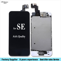 Mobymax 100 Test AAA Full Assembly Ecran Pantalla For IPhone SE LCD Touch Screen Digitizer Home