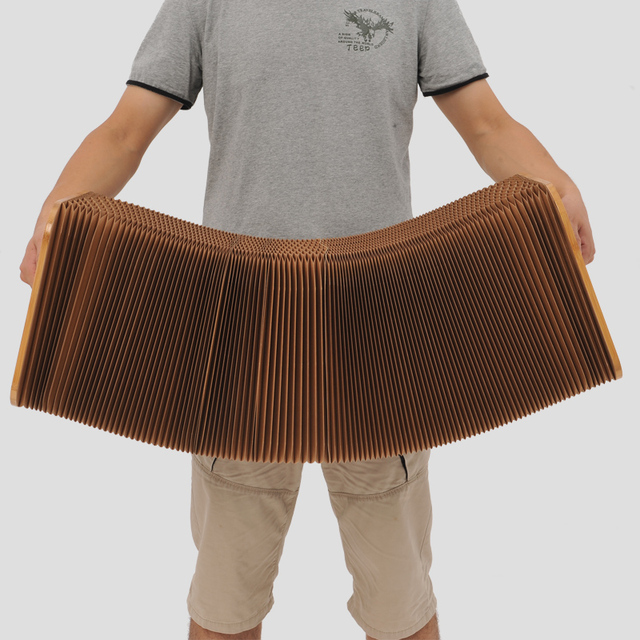 Multi person sofa chair Bedroom Table Creative Beanbag modern minimalist folding Art Environmental protection paper furniture