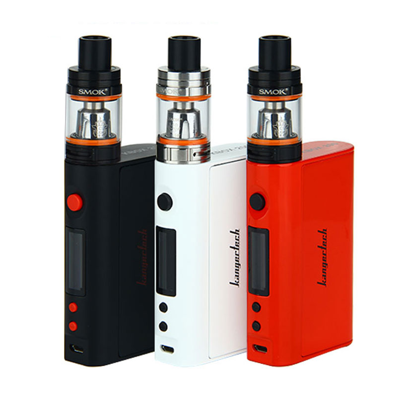 Original Kangertech KBOX TC 200W Mod with SMOK TFV8 BABY Beast Tank 3ml KBOX Temp Control Mod without Battery Electronic Cig Kit termica ан 3 200 tc