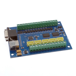Image 3 - 5 осевая ЧПУ плата драйвера USB MACH3 гравировальная доска с MPG Шаговая плата контроллера движения