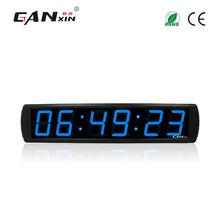 [Ganxin] 4 #8222 ze stopu Aluminium ze stopu Aluminium popularny wielofunkcyjny Led zegar cyfrowy zegar ścienny tanie tanio GI6T-4B