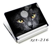 Black Cat Face 12″ 13″ 14″ 15″ Laptop Netbook Decal Sticker Skin Protector Cover