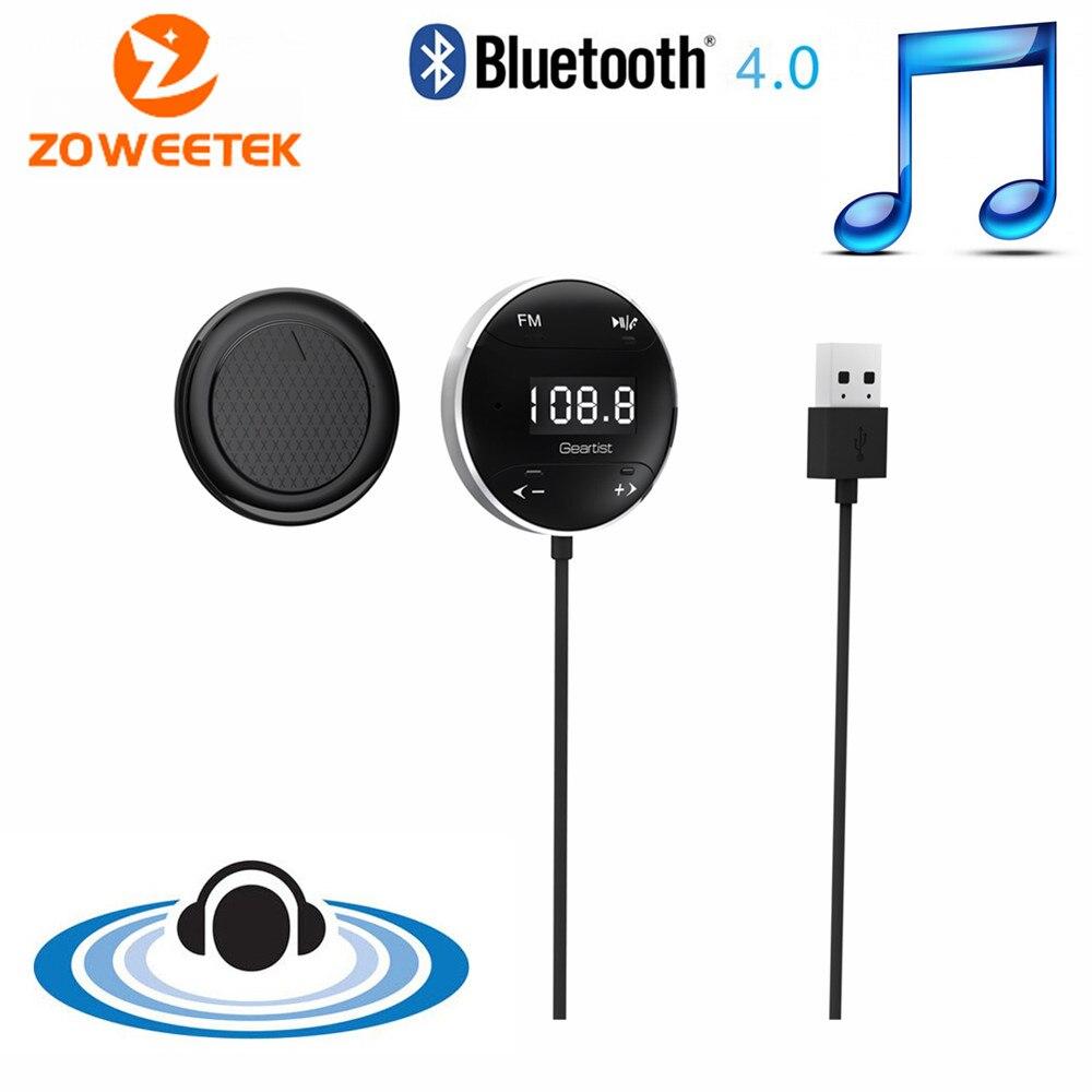 Original Zoweetek GB01 Neue Heiße Freisprecheinrichtung Bluetooth Car Kit mit FM Transmitter Funktion für hören Musik Beantworten Anruf