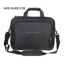 Livraison gratuite détail 2015 nouveau nylon noir sac d'ordinateur portable pour hommes portable sac pour 14 15 15.6 pouce accessoires informatiques, ordinateur portable sac