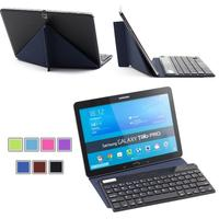 Slim Bluetooth Wireless Keyboard With Stand Case For Windows Tablets Windows 10 Win 8 Win7 PC