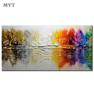 0ad2405bda4 MYT oil painting wall art canvas oil painting wall decor