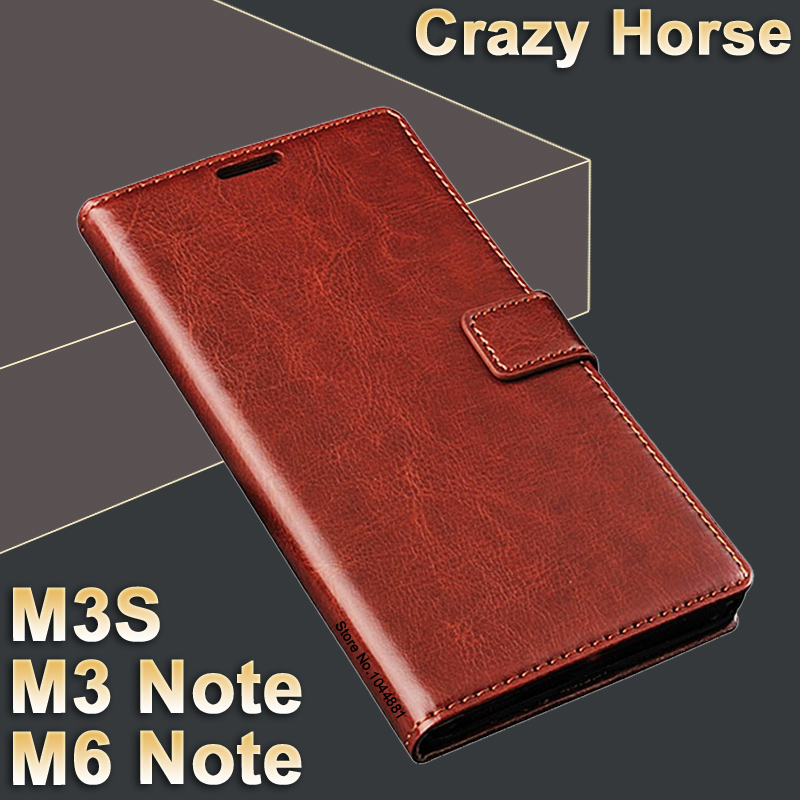 meizu m6 note case cover m 6 leather crazy horse flip case for meizu m3s mini case leather royal. Black Bedroom Furniture Sets. Home Design Ideas