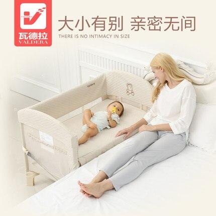 Valdera lit bébé portable pliant multifonctionnel lit bébé concentretor - 2