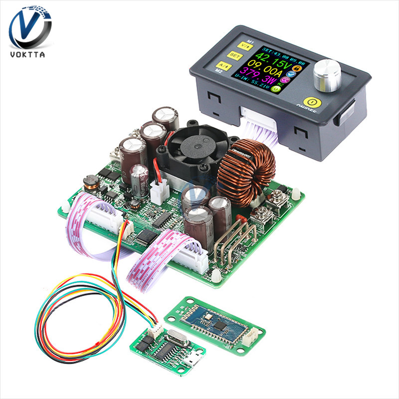 DPS5020 LCD Voltmeter 50V 20A Current Voltage Tester Step-down Programmable Power Supply Module Regulator Converter