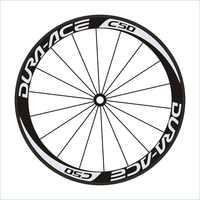 New C50 16pics 2Wheels/set Road Bike 700c Wheel Stickers Bicycle Wheel Rim Racing Stickers Bike Decals Wheel Stickers