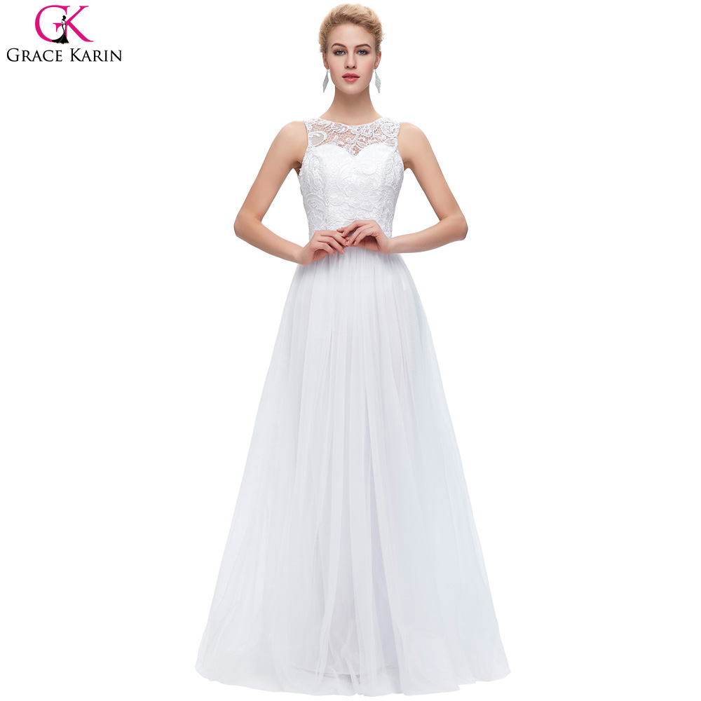 Popular White Lace Evening Gown-Buy Cheap White Lace Evening Gown ...