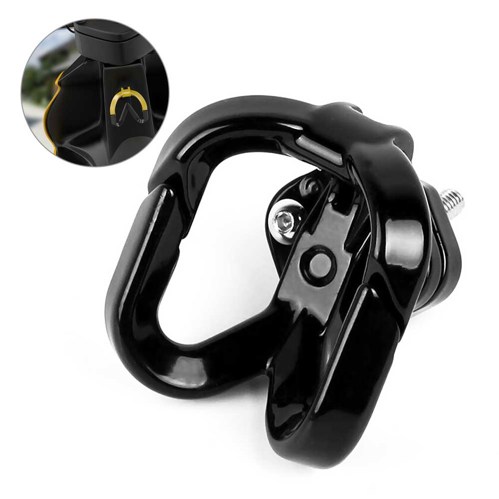6 color Multifunction Motorcycle Hook Luggage Bag Hanger Helmet Claw Double Bottle Carry Holders for ATV Moto Accessories