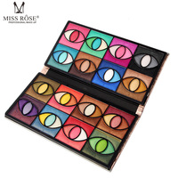 MISS ROSE Diamond Glitter Foiled 80 Colors Eyeshadow Palette Blush Makeup Set For Beauty Eye Shadow High Quality