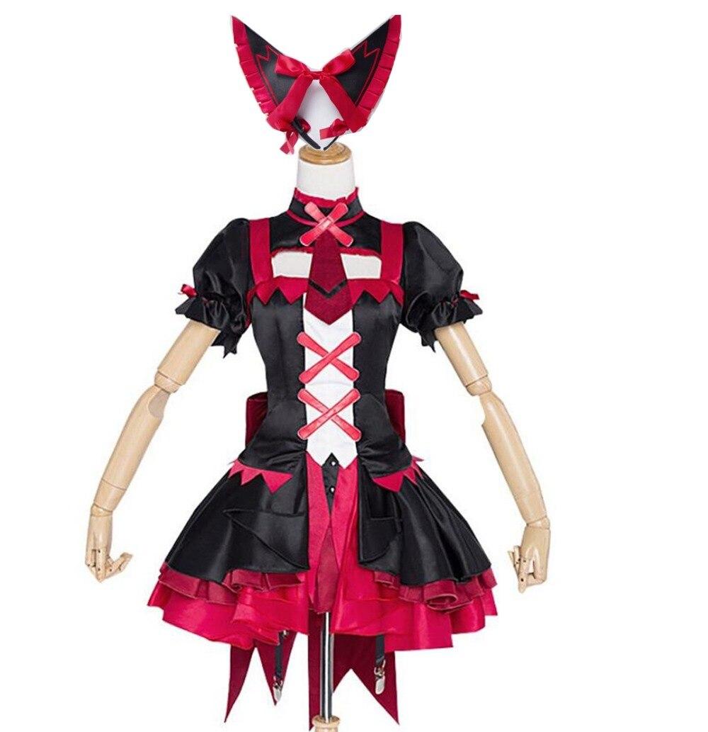 Костюм для косплея Gate Jieitai Kanochi Nite Kaku Rory Mercury, костюм для косплея, костюм Лолиты, костюм на Хэллоуин