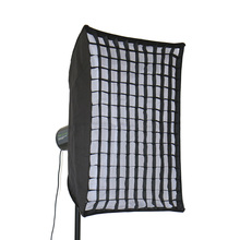Professional  rectangle Softbox 50*70CM with Bowens Mount for Photography Studio Strobe Flash Light godox pro studio octagon honeycomb grid softbox reflector softbox 140cm 55 with bowens mount for studio strobe flash light cd50