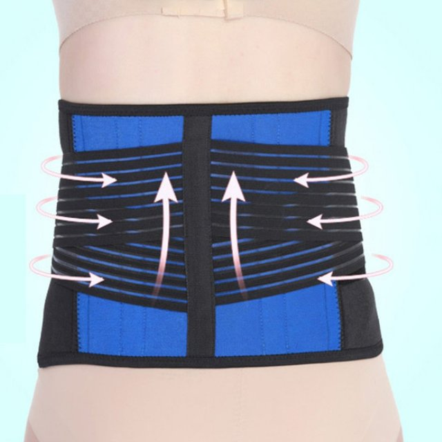 Keep Warm Men Women Waist Support Belt Sport Slimming Absorb Sweat Gym Bodybuilding Weightlifting Waist Traning Belt 3