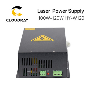 Image 5 - Cloudray fuente de alimentación láser CO2, 100 120W, para máquina cortadora de grabado láser CO2, HY W120 serie T / W