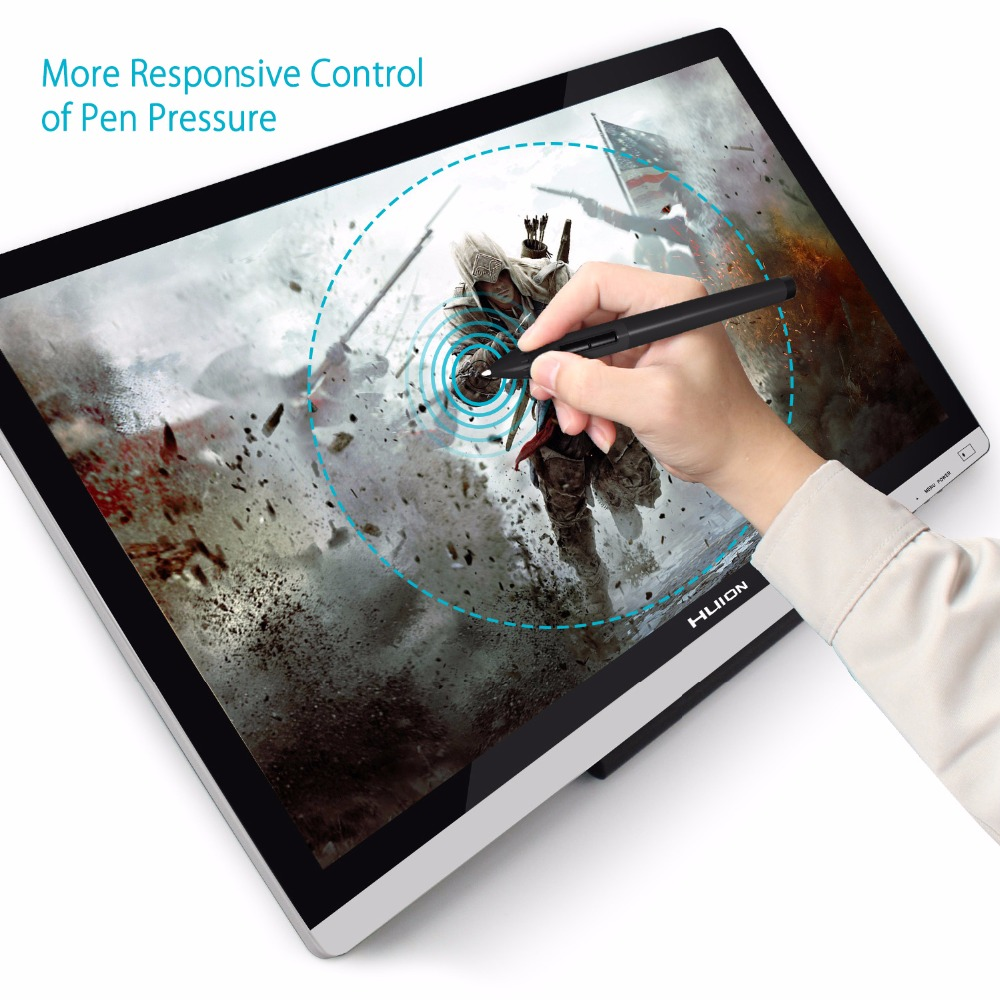 Image 3 - HUION GT 220 V2 21.5 Inch Pen Display Digital Graphics Drawing Tablet Monitor IPS HD Pen Tablet Monitor 8192 Levels with Gifts-in Digital Tablets from Computer & Office