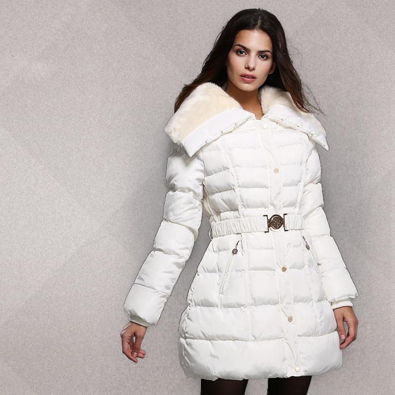 Winter White Coats For Women - Sm Coats