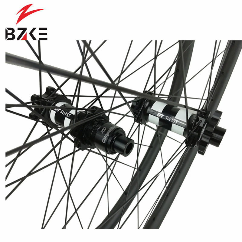 Image 5 - BZKE carbon wheels 30mm width 29 inch carbon mtb bicycle wheelset boost  carbon mtb wheels 29 bike wheelset 350 hubs-in Bicycle Wheel from Sports & Entertainment
