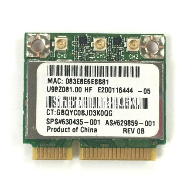 Atheros AR9380 AR5BHB112 wlm 2.4G/5G SPS 630435-001 karta wifi LAN bezprzewodowa karta sieciowa