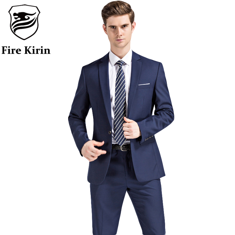 Aliexpress.com : Buy Fire Kirin Men Suits 2017 Latest Coat ...