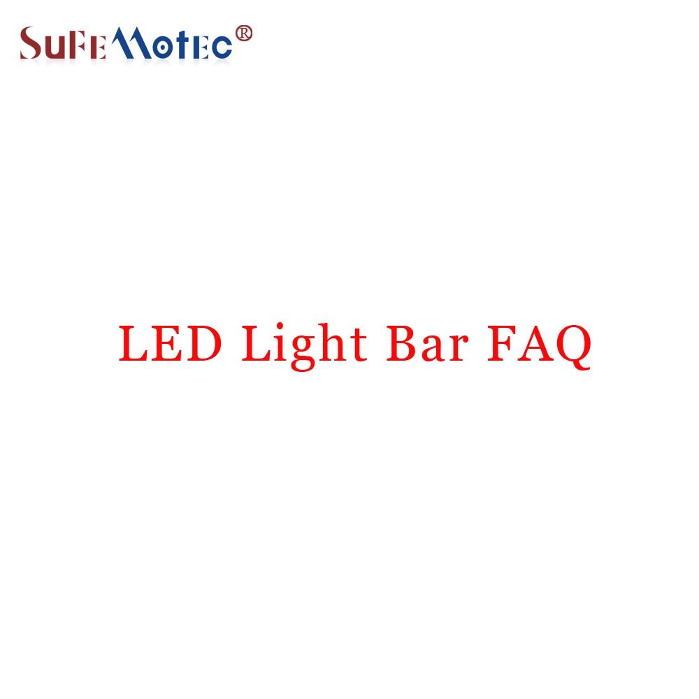 About LED Light Bar FAQ