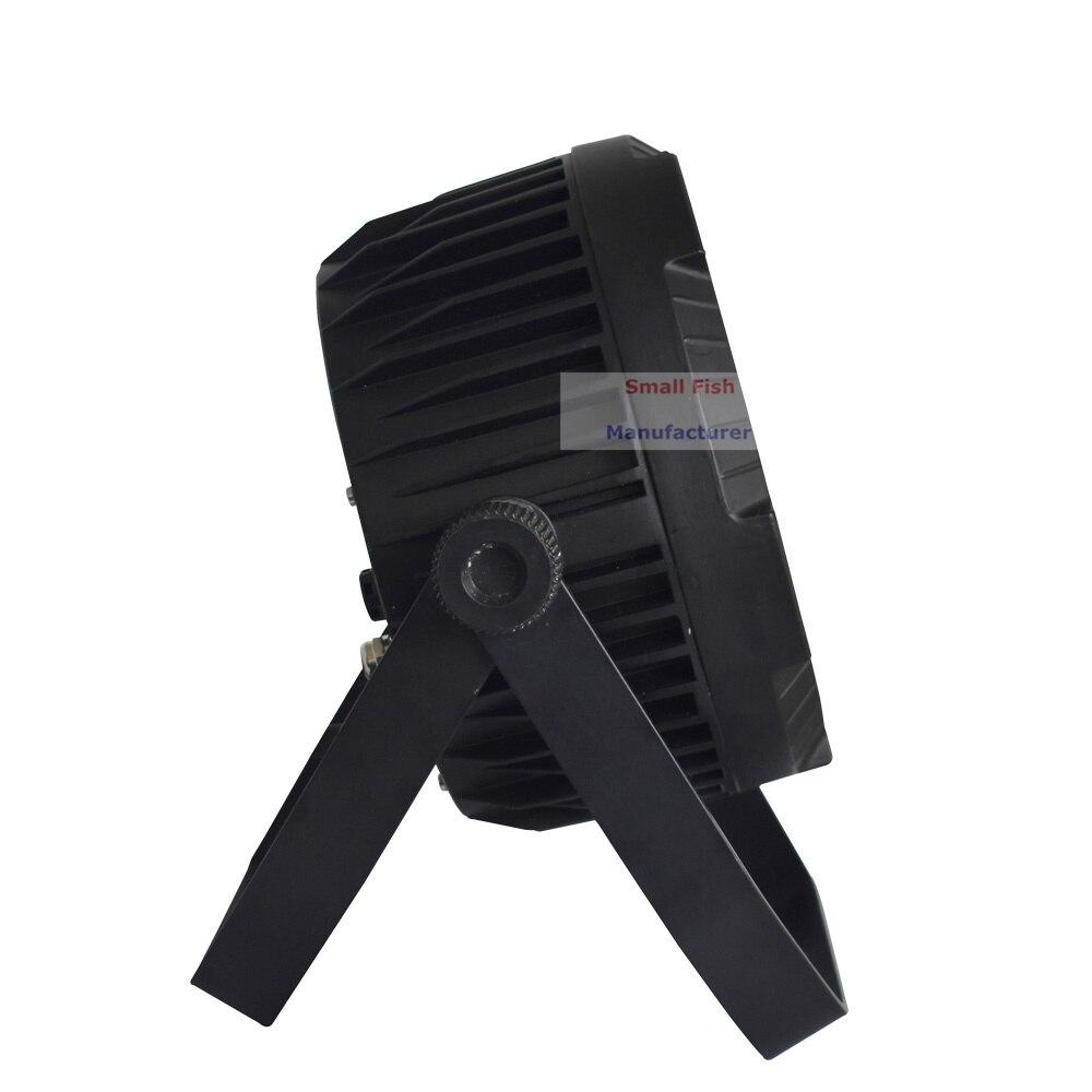 8XLot Outdoor Par Light 18X10W RGBW 4IN1 LED Flat Par Light Strobe DMX Controller For Disco Bar Strobe Dimming Effect Projector