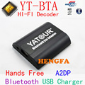Yatour Bluetooth Hands Free A2DP Car kits For 2005-2012 Toyota / Lexus / Scion small 6+6 pin YT-BTA With HI-FI HFP