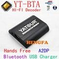 Yatour mãos Bluetooth A2DP Car kit para 2005 2012 Toyota / Lexus / Scion 6 + 6 pino YT-BTA com hi fi HFP