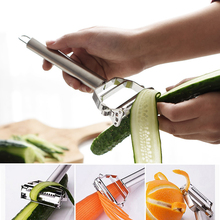 Practical Stainless Steel Paring Knife Vegetable Tools Gourd Graters Potato Carrot Peeler Apple Two Types of Blades