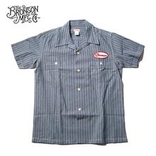 برونسون خمر نادي الدراجات النارية قمصان قصيرة الأكمام 1940s الرجال تي شيرت غير رسمي
