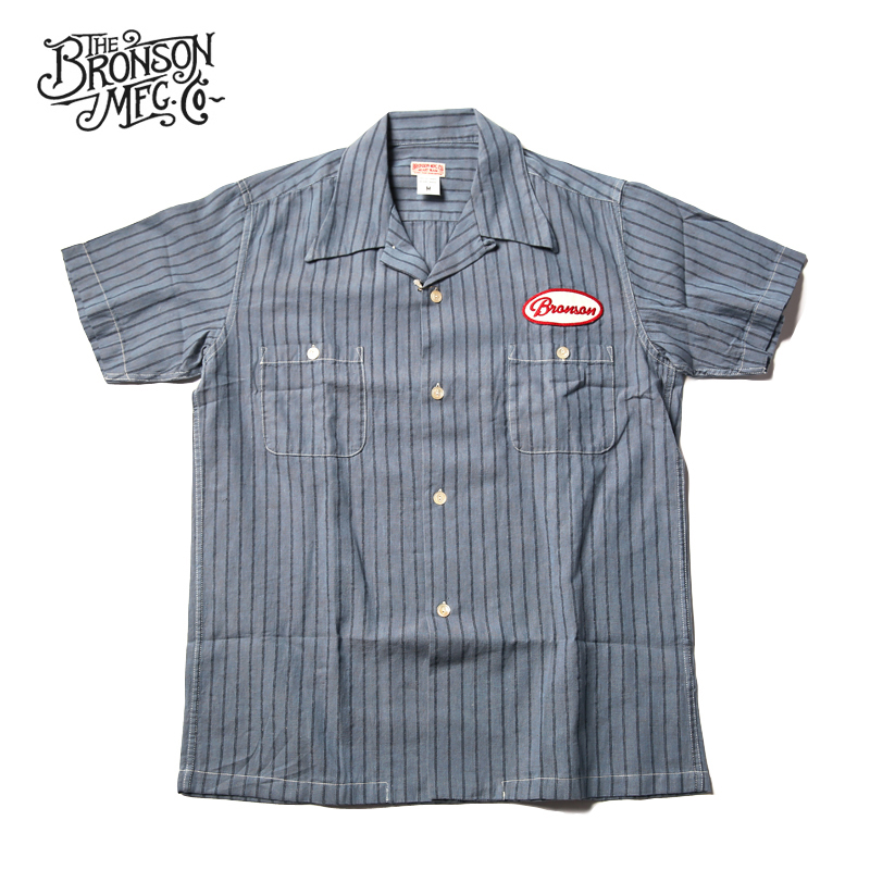 Bronson Vintage Motorcycle Club Short Sleeve Shirts 1940s Men's Casual T-Shirts