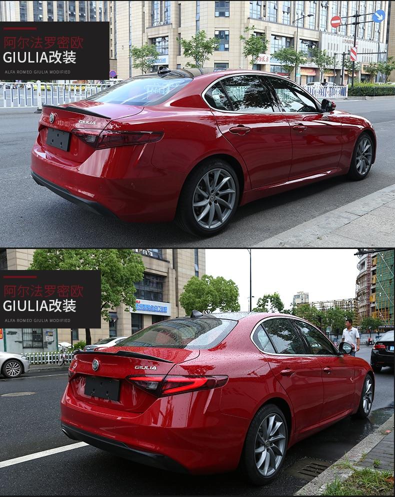 Aliexpress.com : Buy Fit For Alfa Romeo Giulia Carbon