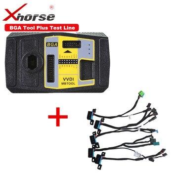 Original Xhorse VVDI MB BGA TooL For Benz Key Programmer Get Free Xhorse EIS/ELV Test Line with BGA Calculator Function
